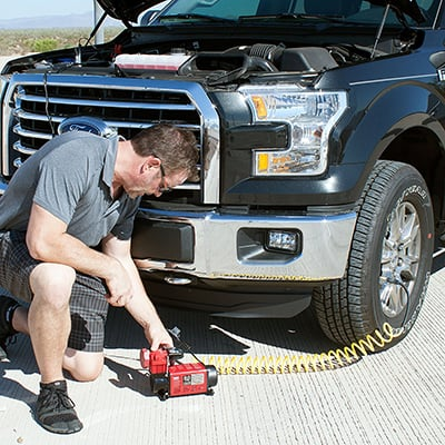 Tire Inflators Power Source
