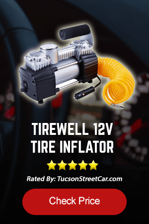 TIREWELL 12V TIRE INFLATOR