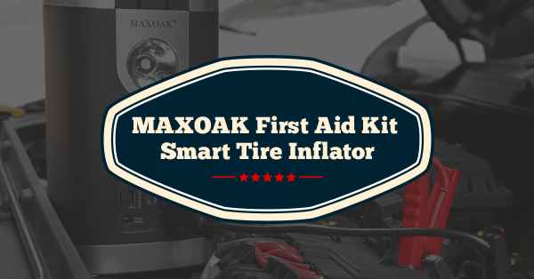 maxoak first aid kit smart tire inflator