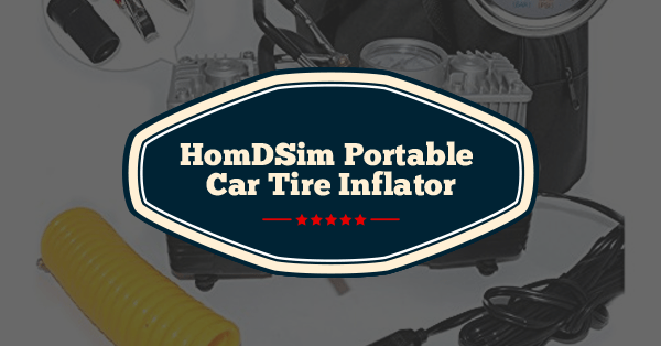 homdsim portable car tire inflator