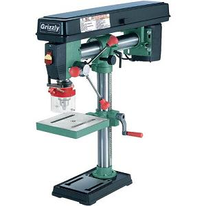 1.Grizzly G7945 Bench Top Radial Drill Press