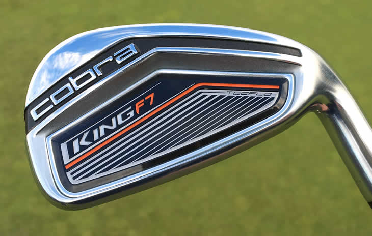 Cobra F7 Irons for handicapps