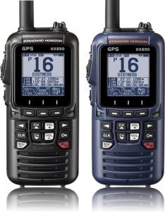 Standard Horizon HX870 Floating 6W Handheld VHF with internal GPS